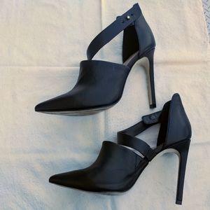 Firth leather high heels black